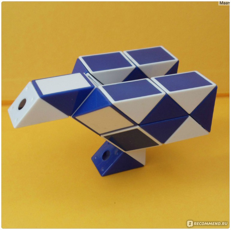 Как сделать косичку из змейки рубика - Val-spb.ru