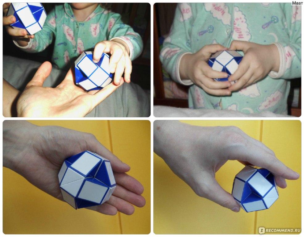 Как сделать сердце из змейки рубика пошаговая инструкция