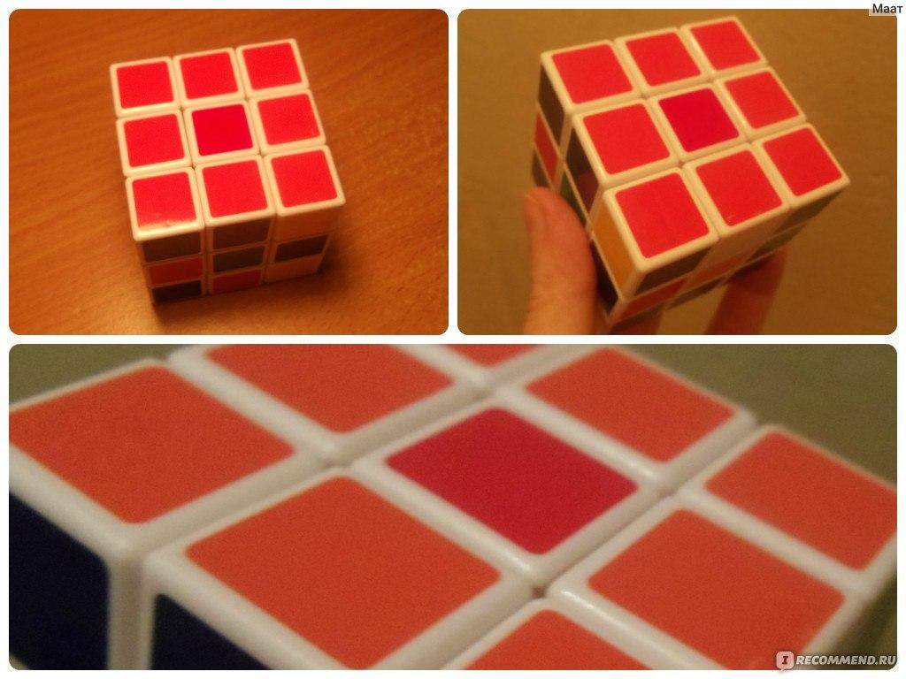 Фото схемы для собирания кубика рубика