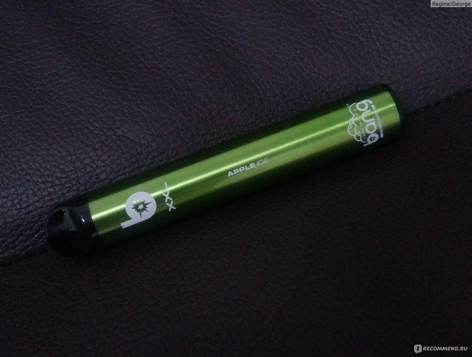 bang одноразовая электронная сигарета сколько
