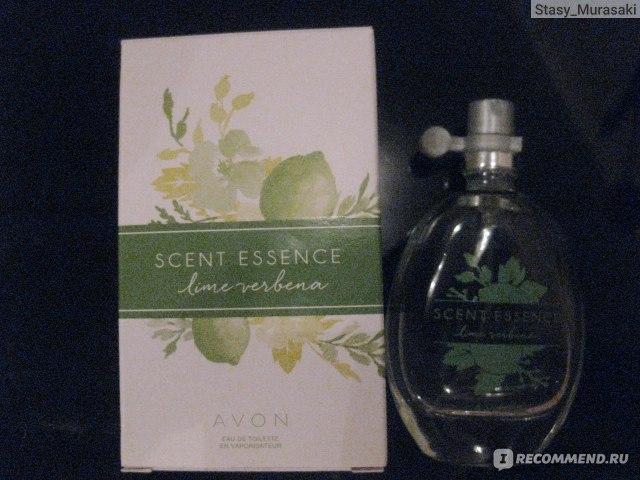 Cudowna Avon Scent Essence Lime Verbena - «Пожалуй, самый нежно-зеленый DF49