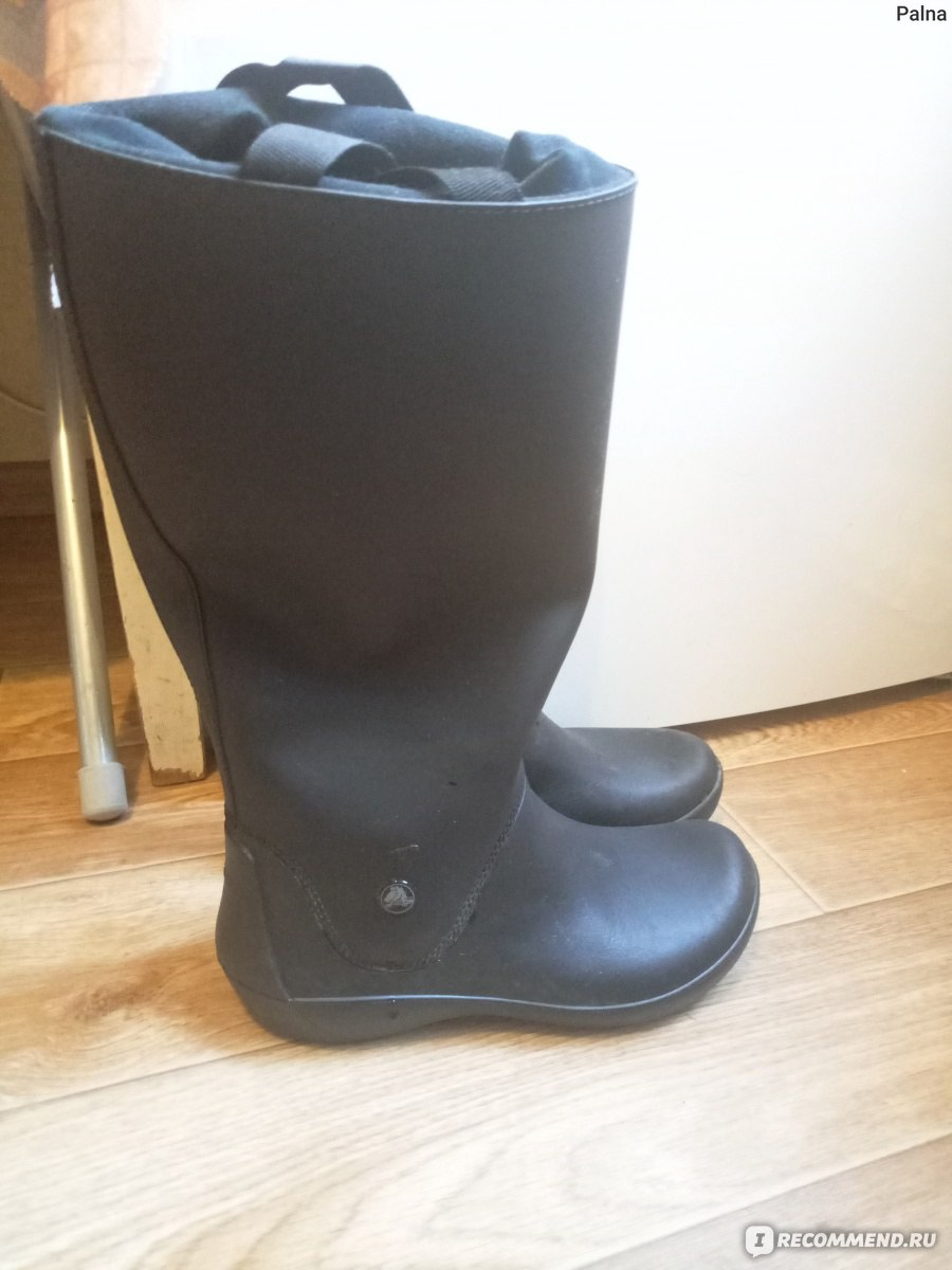 4a4a1f6c3bc7 Сапоги резиновые CROCS Women's RainFloe Boot - «Стильно, модно ...