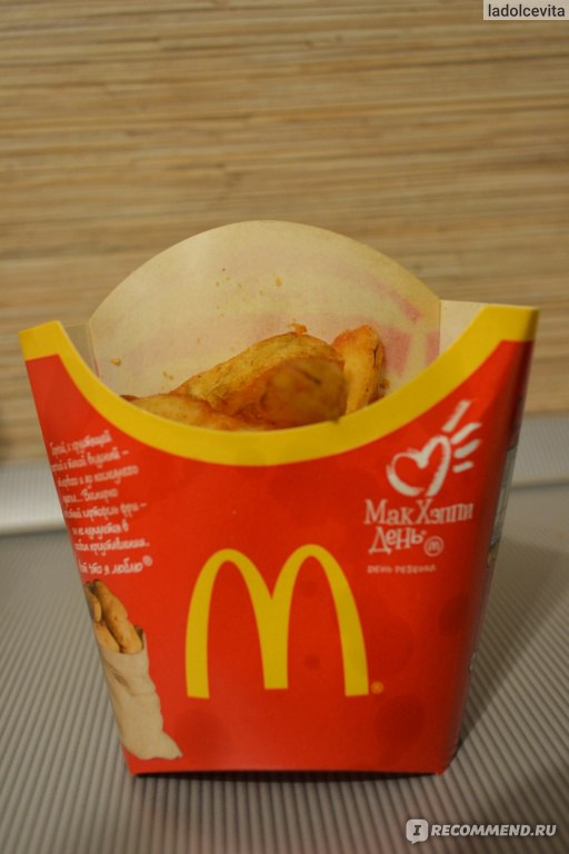 Сделать картошку как в макдоналдсе