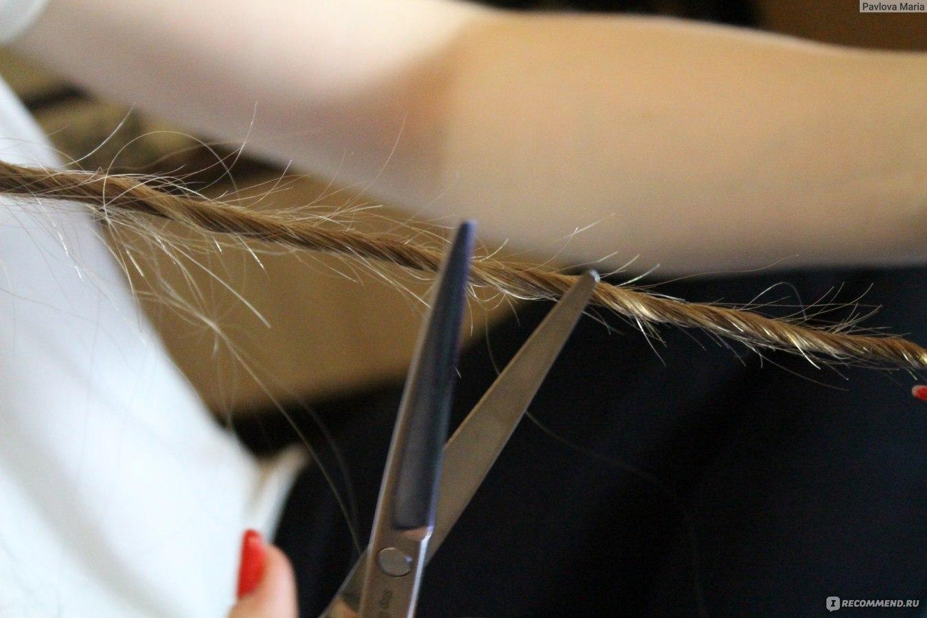 Посеченные кончики волос в домашних условиях 10