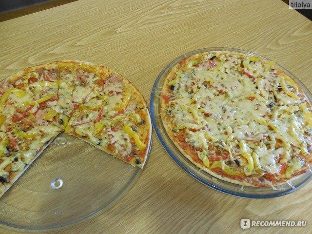 Как сделать пиццу в микроволновке из теста