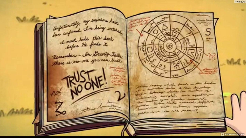 Гравити фолз как сделать дневник 1 из бумаги