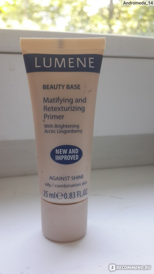 Отзывы база под макияж lumene beauty