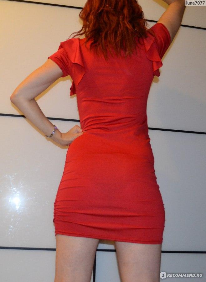 видны трусики через платье фото