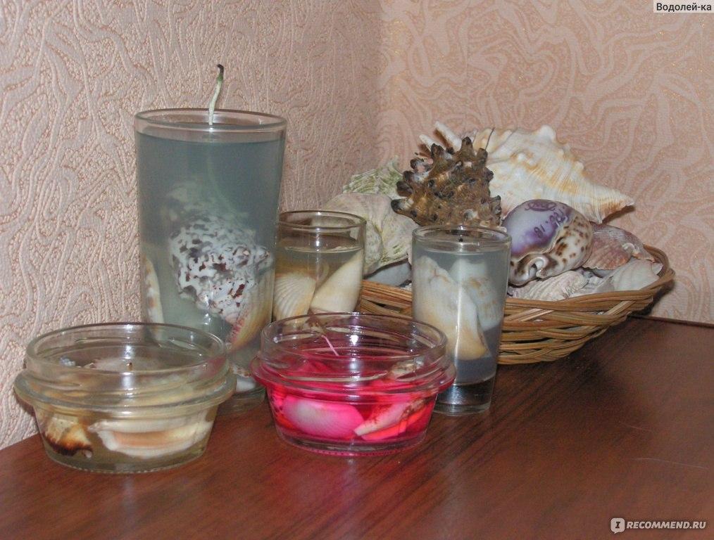 Гелевые свечи своими руками цены 78