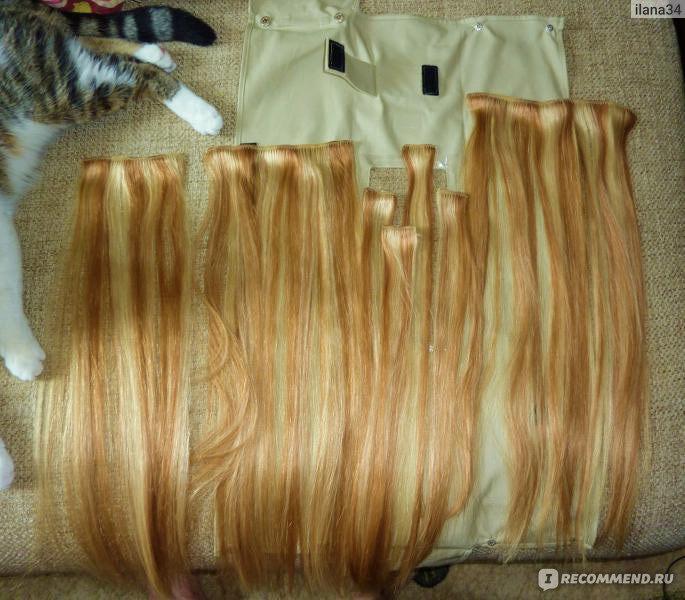 Хаир шоп волосы на заколках