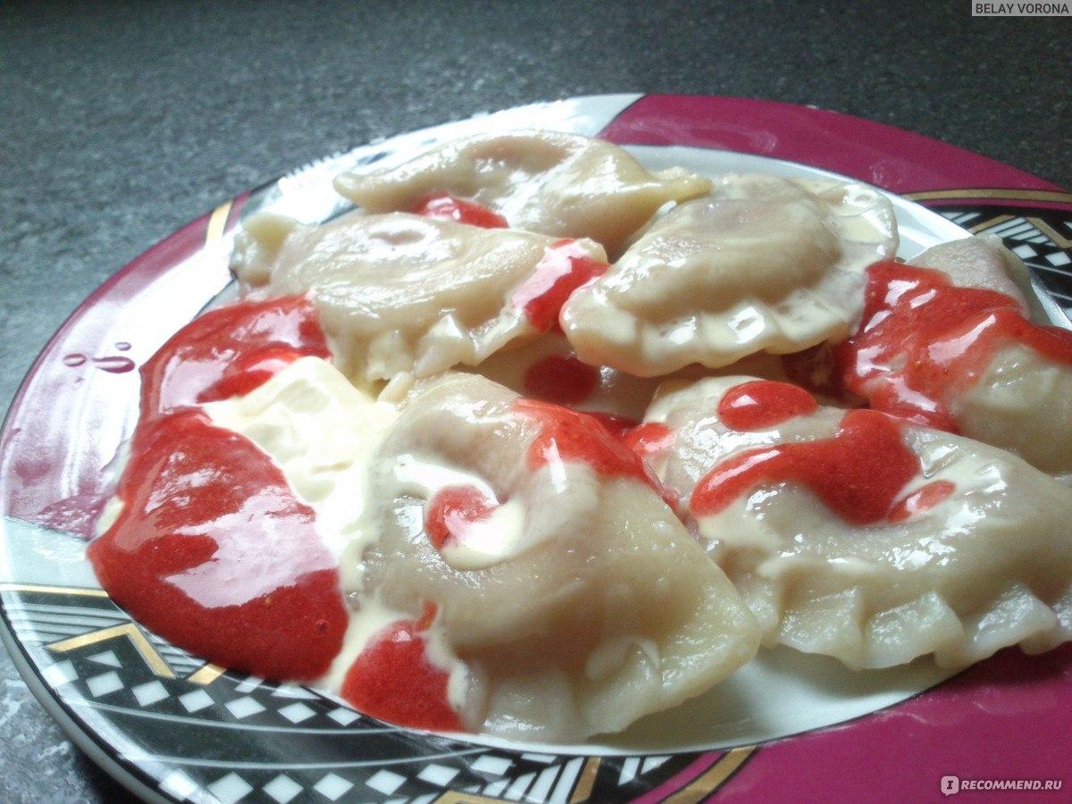 Тесто для вареников с клубникой рецепт пошагово в