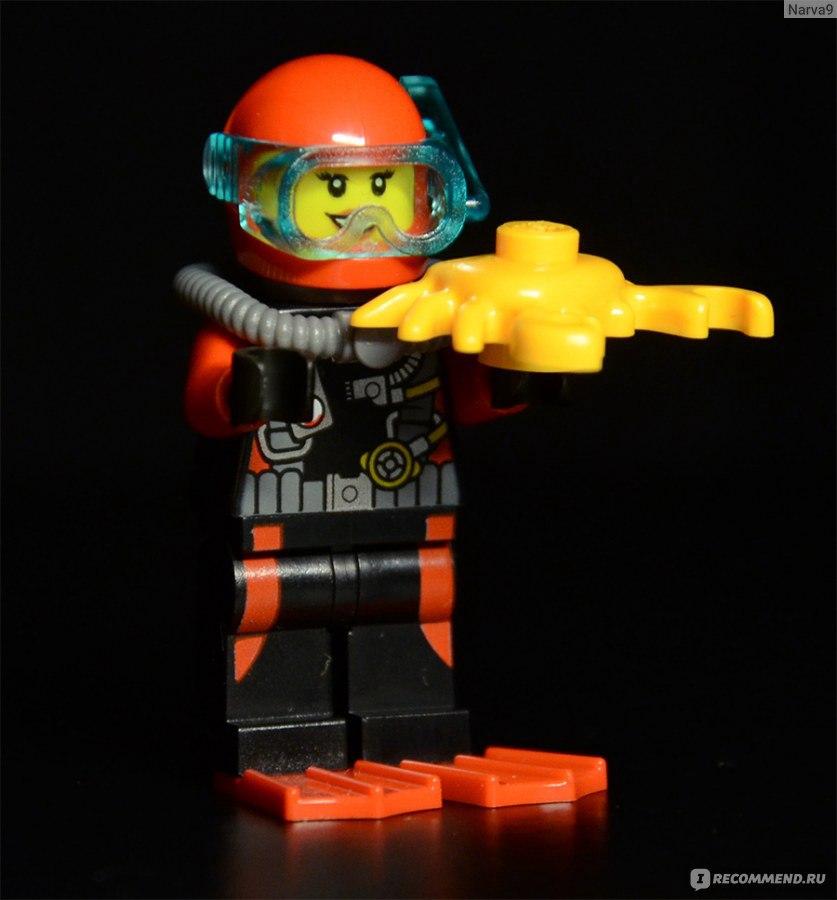 инструкция для лего батискаф