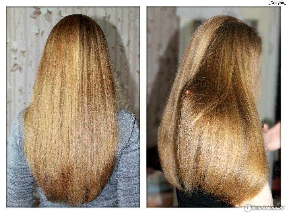 Как сделать чтобы волосы были гладкими и  671