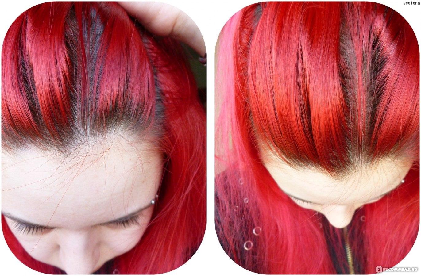 Как сделать красную краску для волос 875