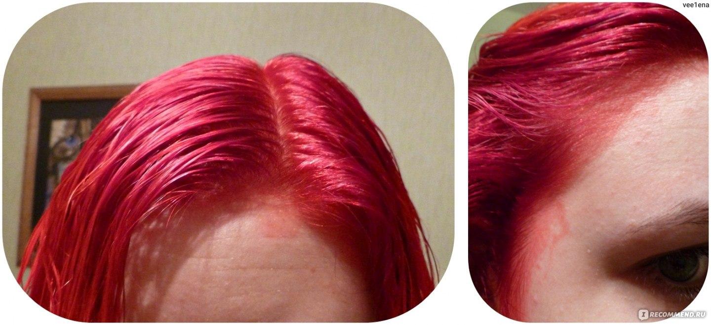 Как сделать красную краску для волос 145