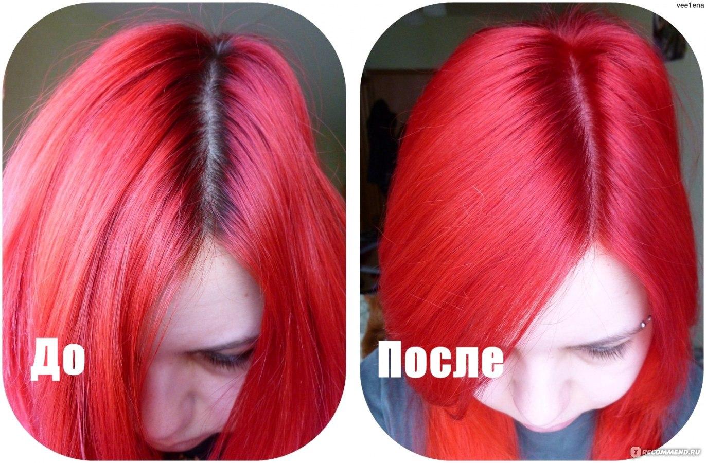 Яркие краски для волос 55