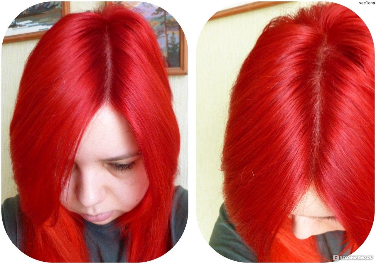 Как сделать красную краску для волос 493