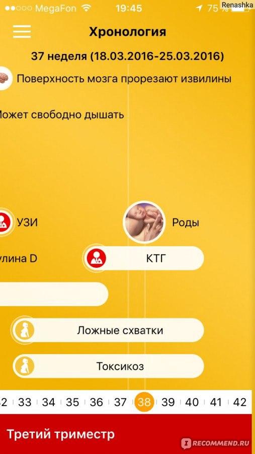 Лучшее приложение для беременных айфон 89
