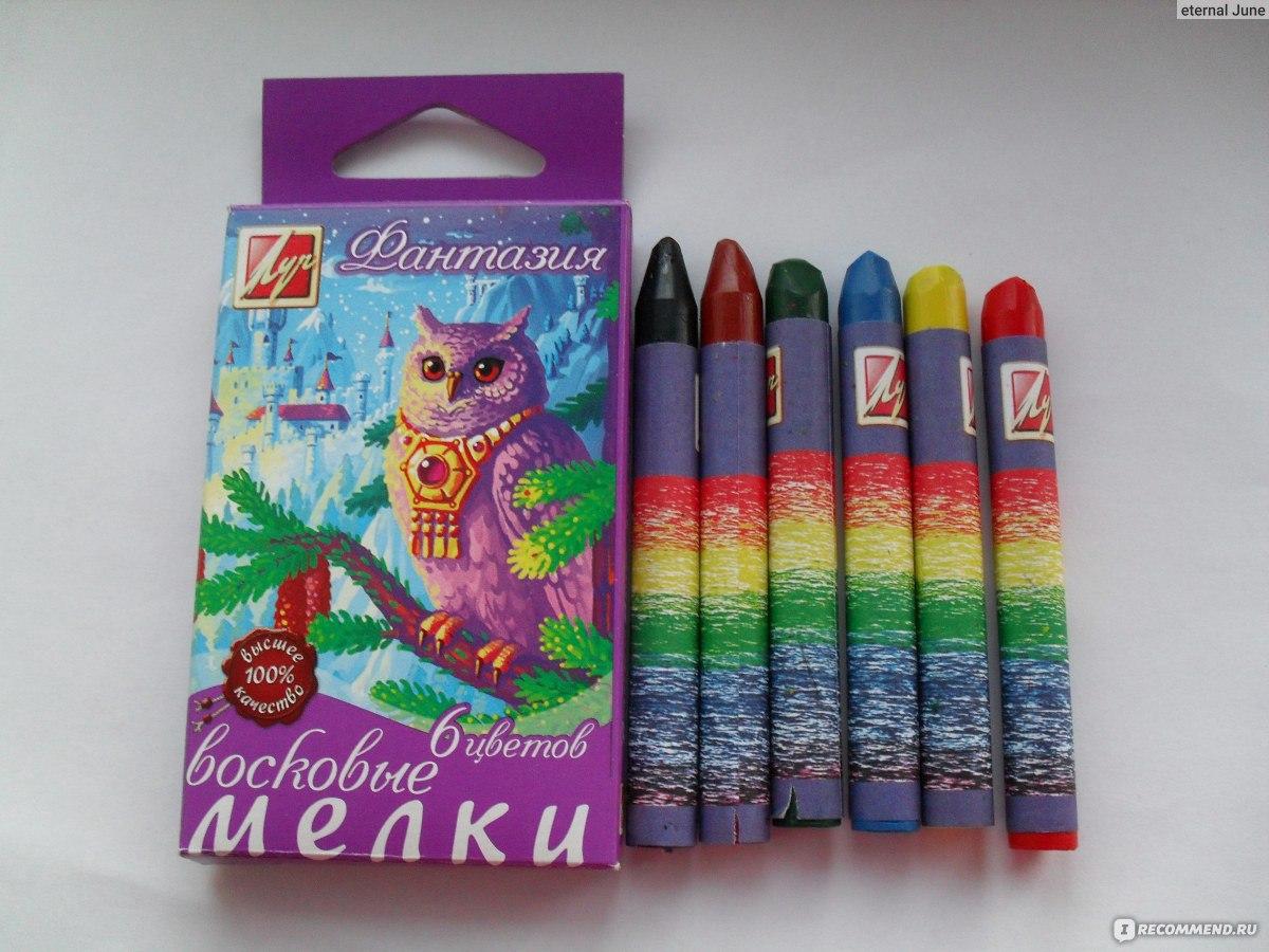 Рисунки восковыми мелками для детей фото