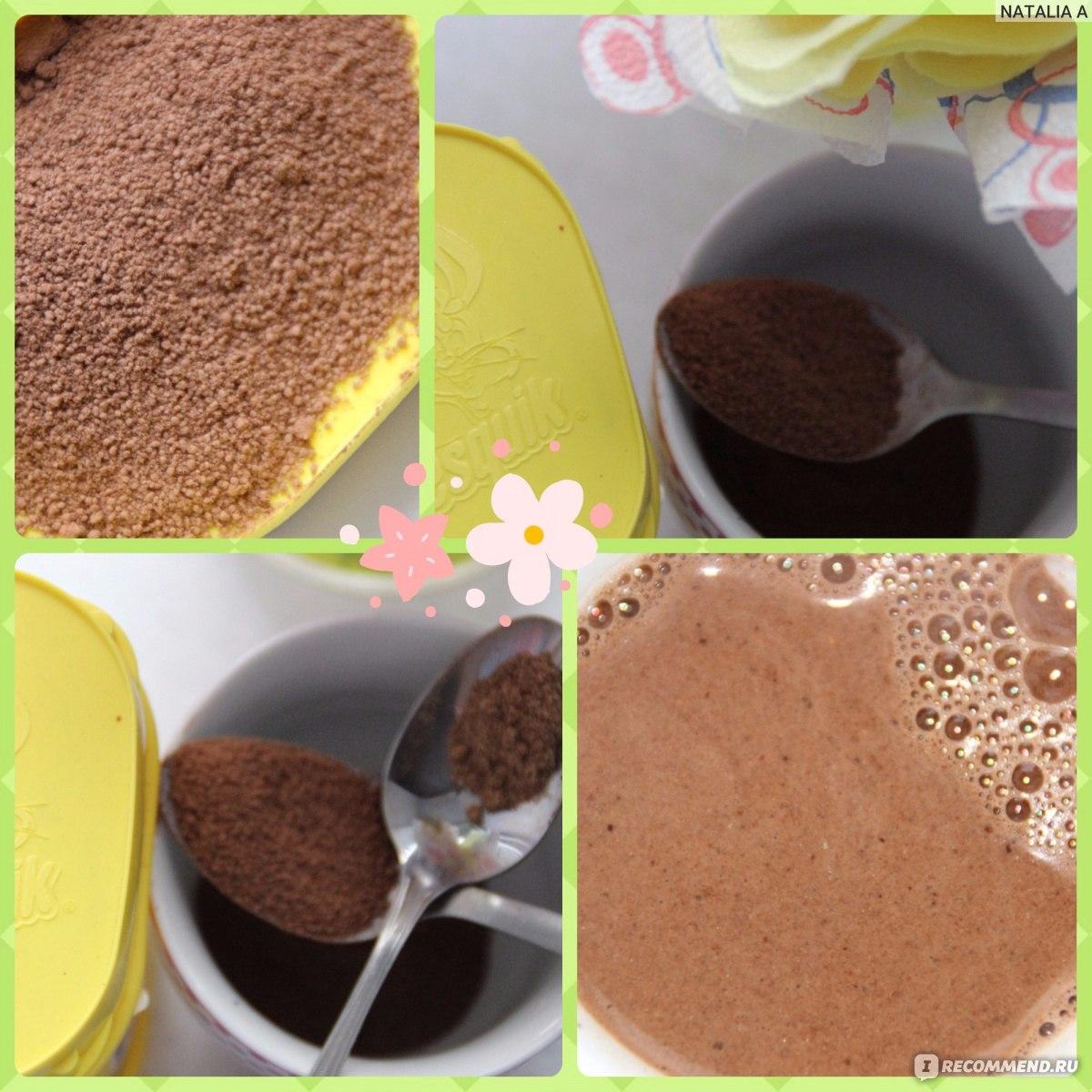 что испечь из какао несквик