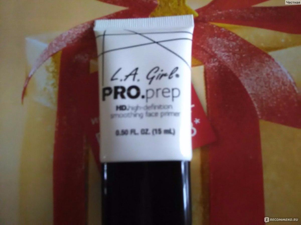 La Girl Proprep Hdhigh Definition Smoothing Face Pro Prep Primer