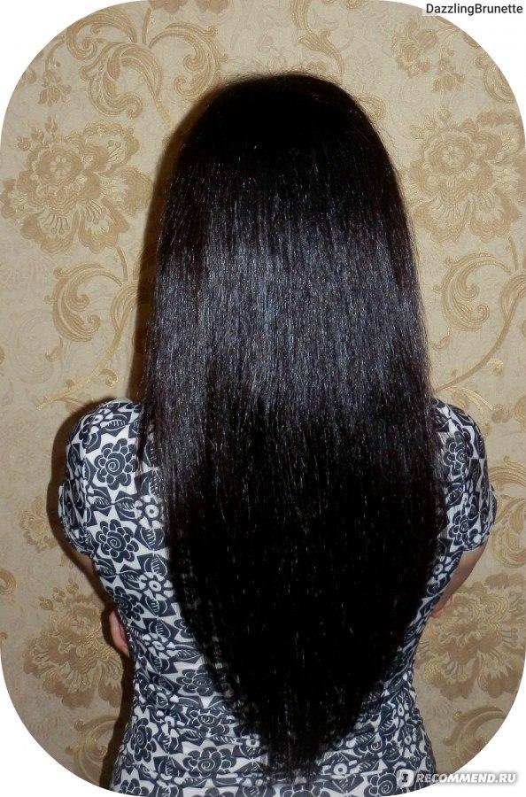 Краска капус какао фото на волосах
