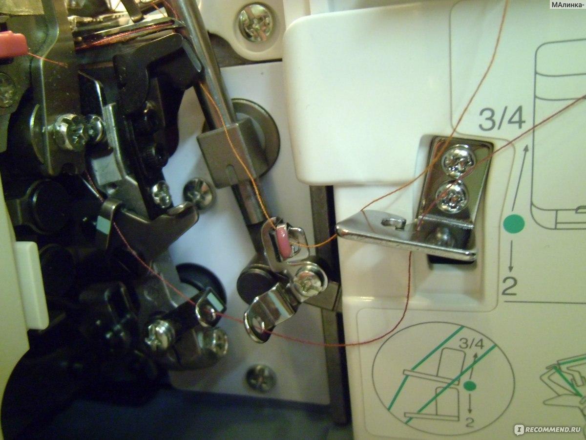 Петля для пуговицы на швейной машине Janome - Самошвейка 85