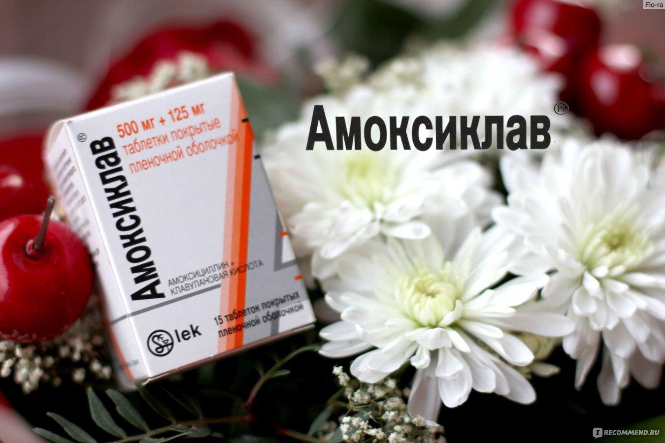 амоксиклав в таблетках взрослым цена