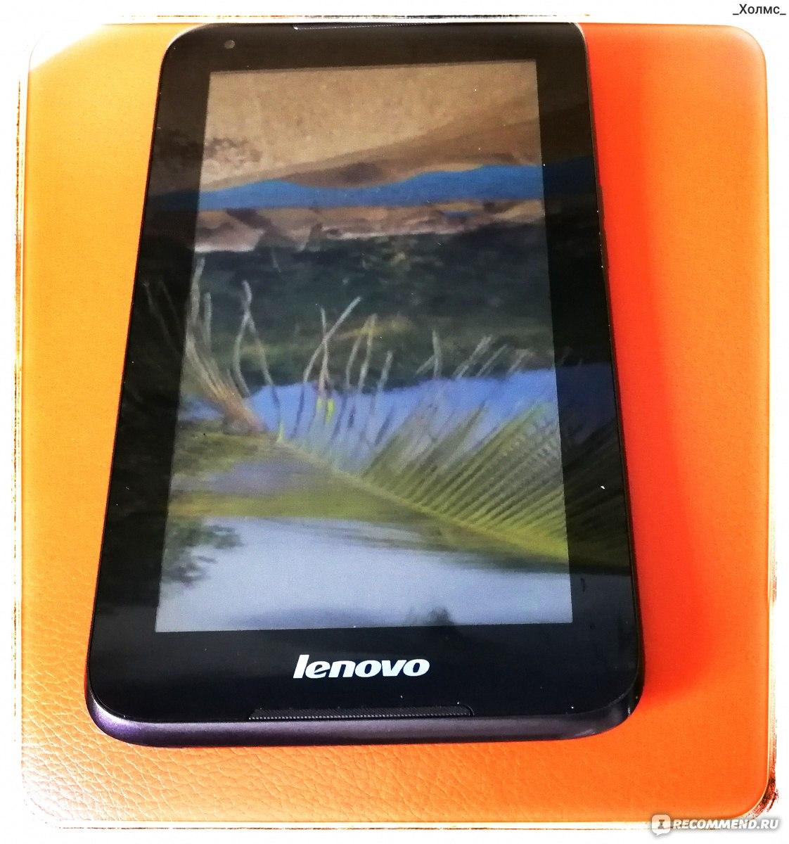 планшет lenovo работает только фронтальная