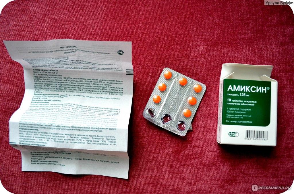 Амиксин  Инструкция  Цена  Описание препарата
