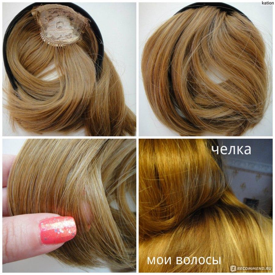 Накладная челка из натуральных волос в саратове