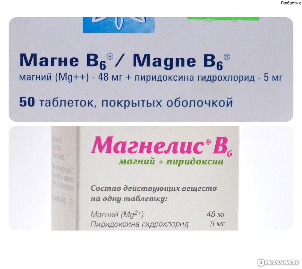 Магне в6 при беременности: инструкция по применению, дозировка.