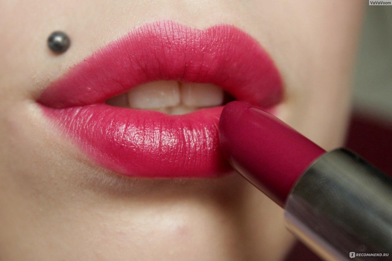 Как сделать так чтобы помада долго держалась на губах