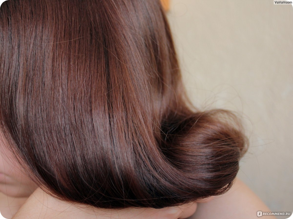 Цвет волос шоколад с холодным оттенком