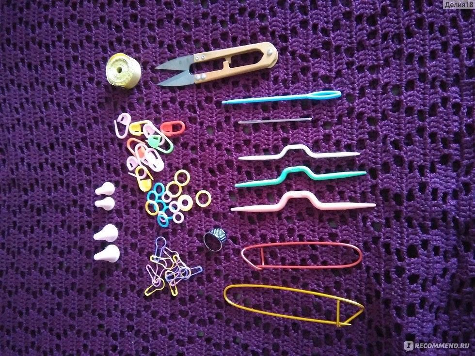 Набор инструментов для вязания Aliexpress Hot Knitting Tools Crochet Yarn Hook Stitch Accessories Supplies With Case