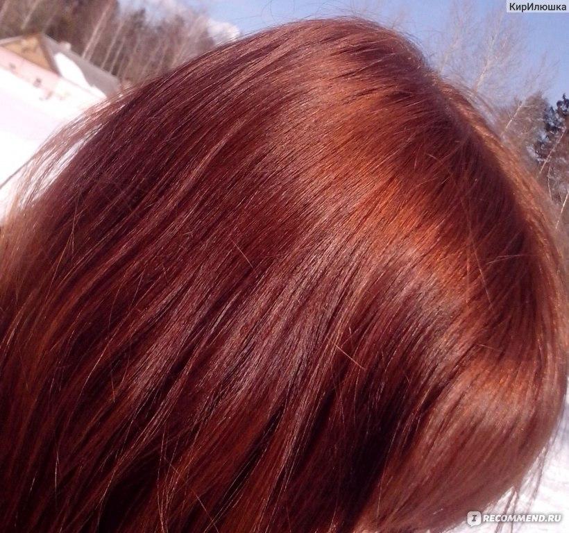 Цвет волос радужный светлый каштан