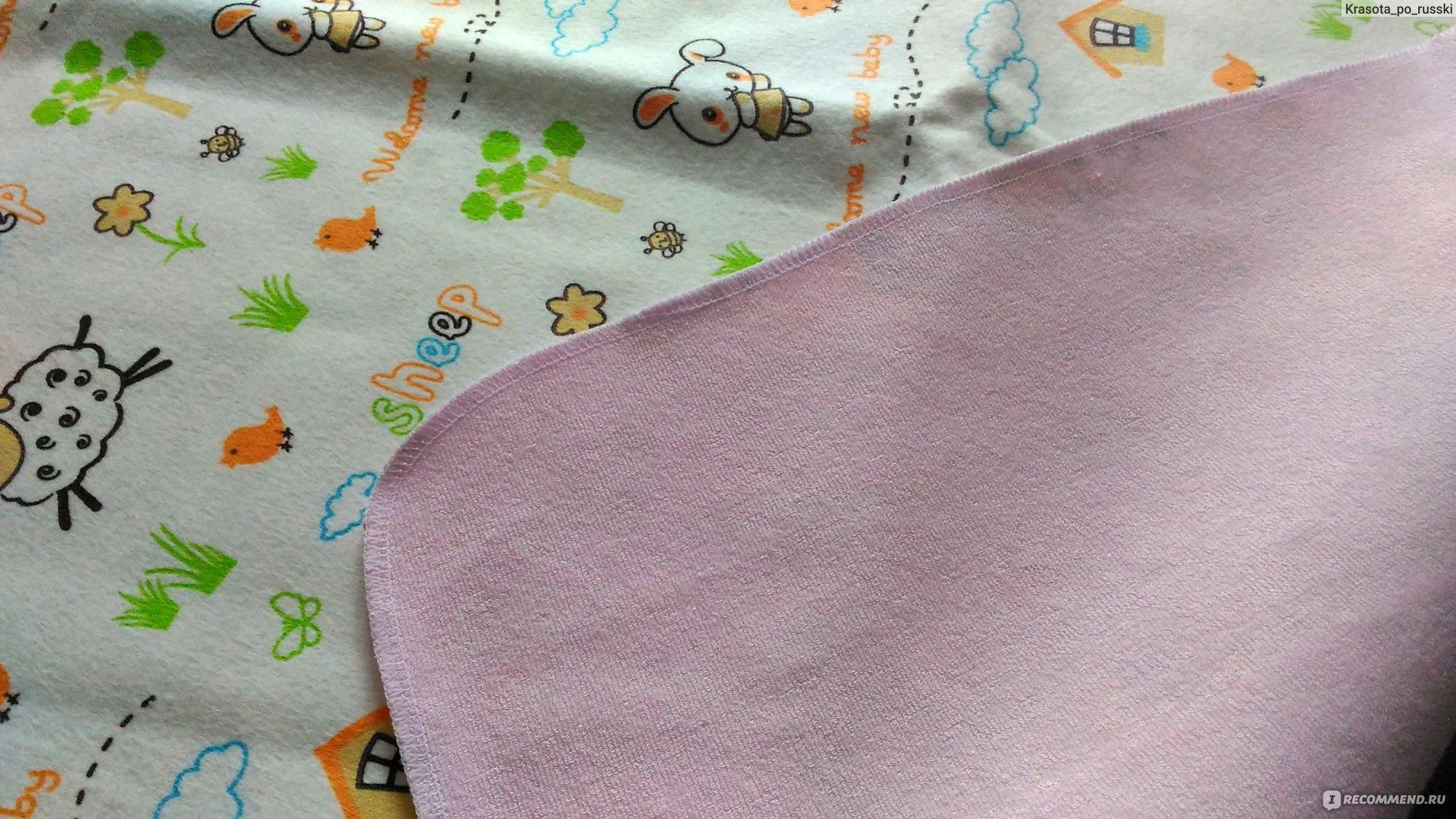 Постельное белье Антипамперс Непромокаемая двусторонняя пеленка - «А ... 15c226cea07