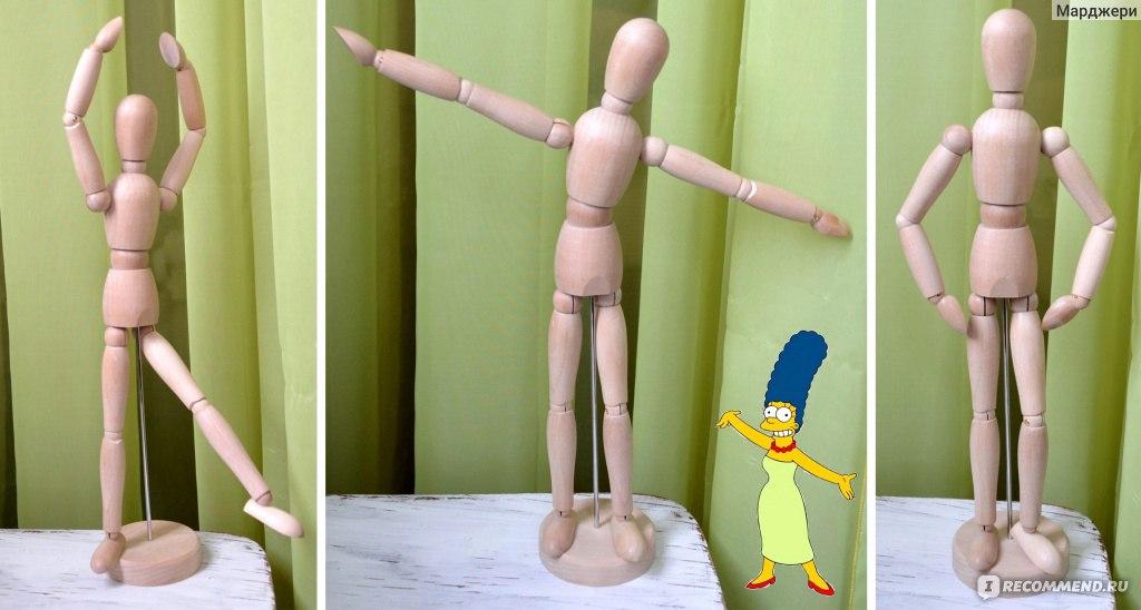 Деревянные шарнирные куклы своими руками 43