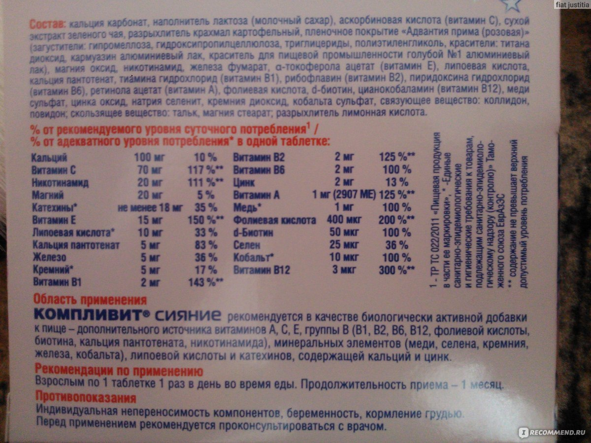 Витамины от а до цинка для беременных отзывы