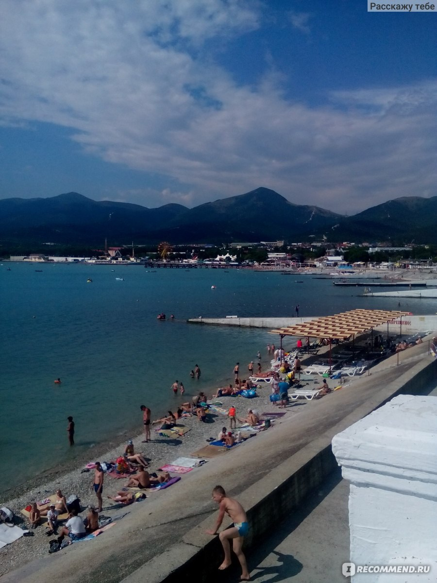 Пляжи Кабардинки Карта, фото и отзывы о пляжах 91