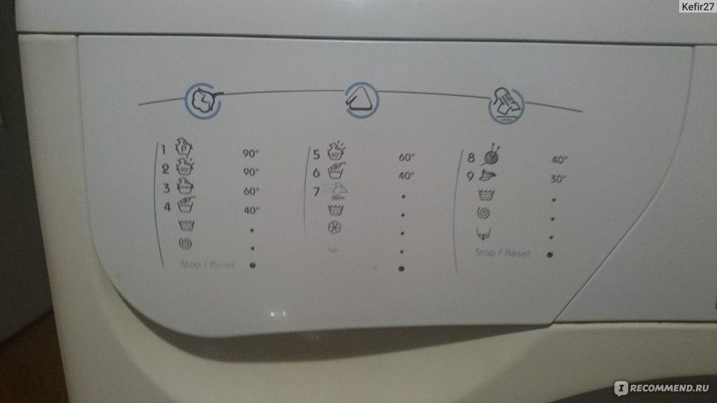 Инструкция стиральной машины indesit w84tx