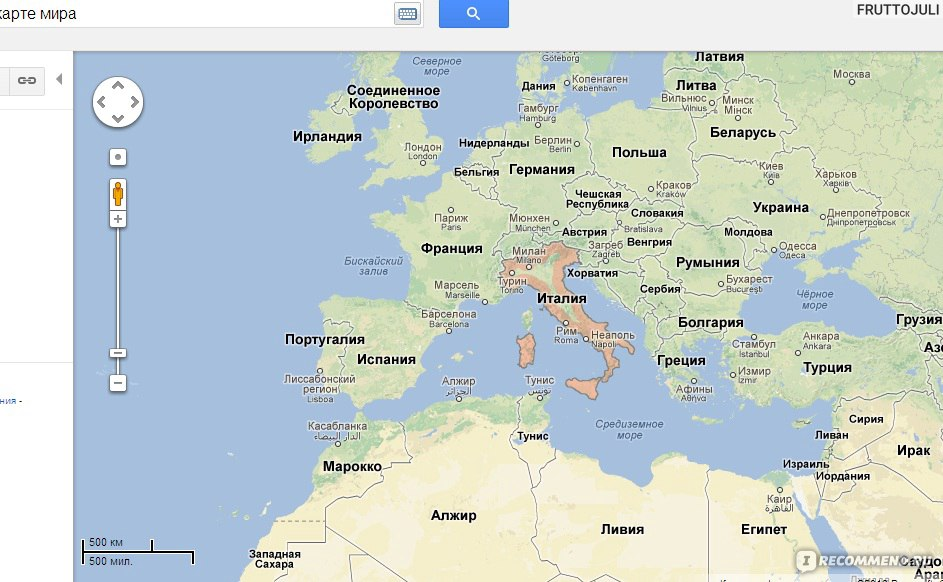 Карты google спутник