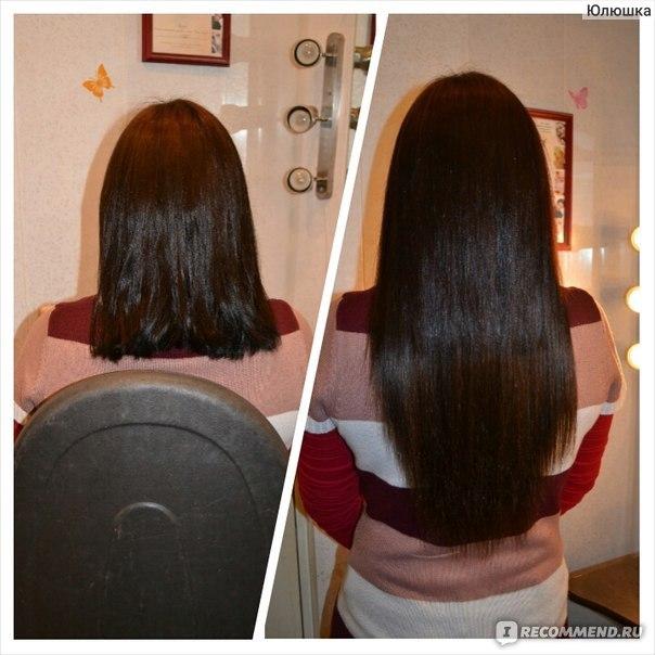 Наращивание волос свой материал