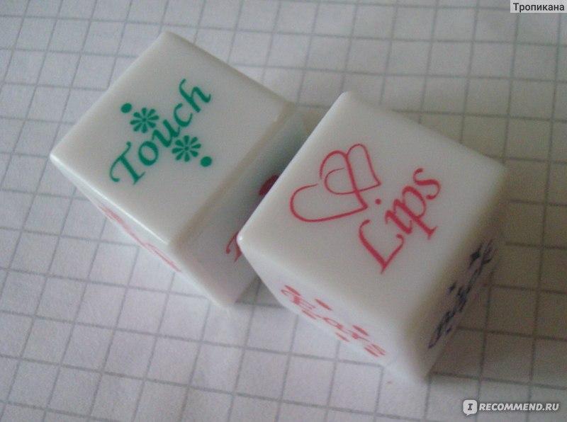 Игра с кубиками лизать целовать
