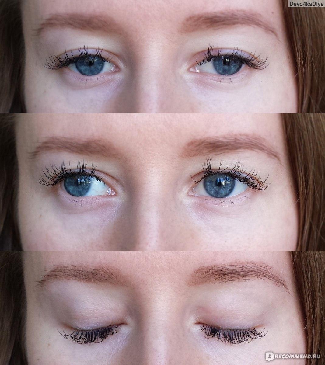 Нарощенные ресницы натуральный эффект фото