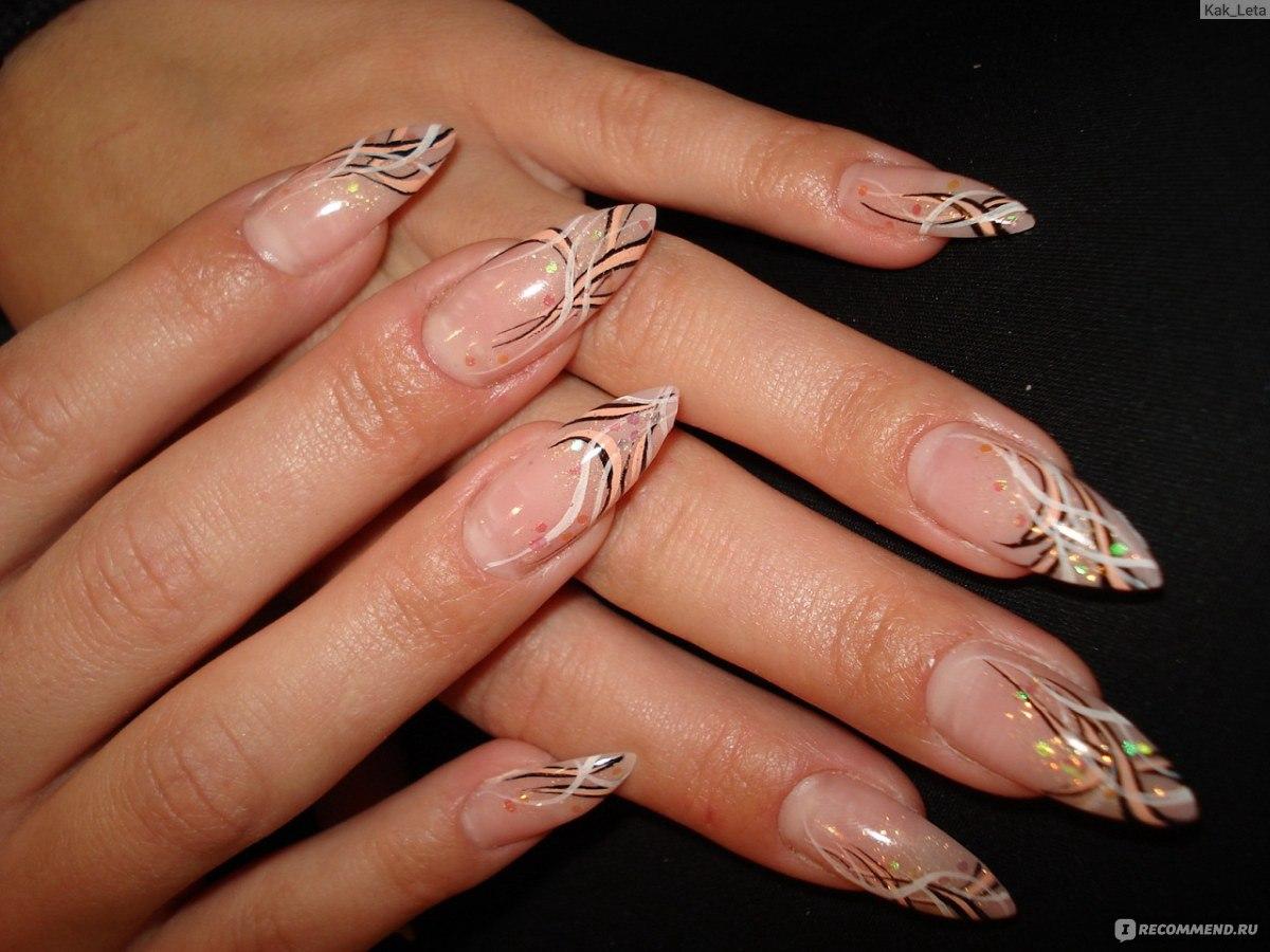 Ногти нарощенные фото: 100 фото 61