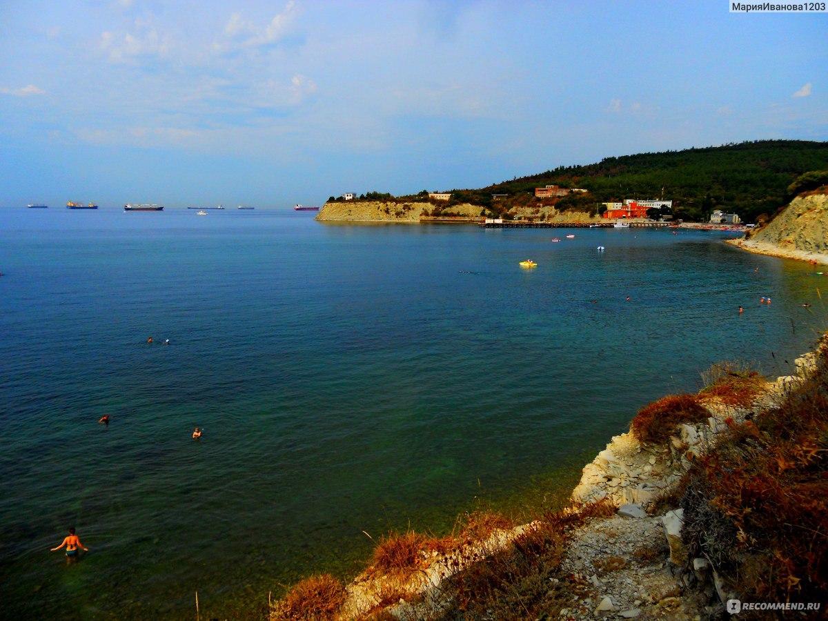 Фото геленджика 2018 пляж голубая бухта