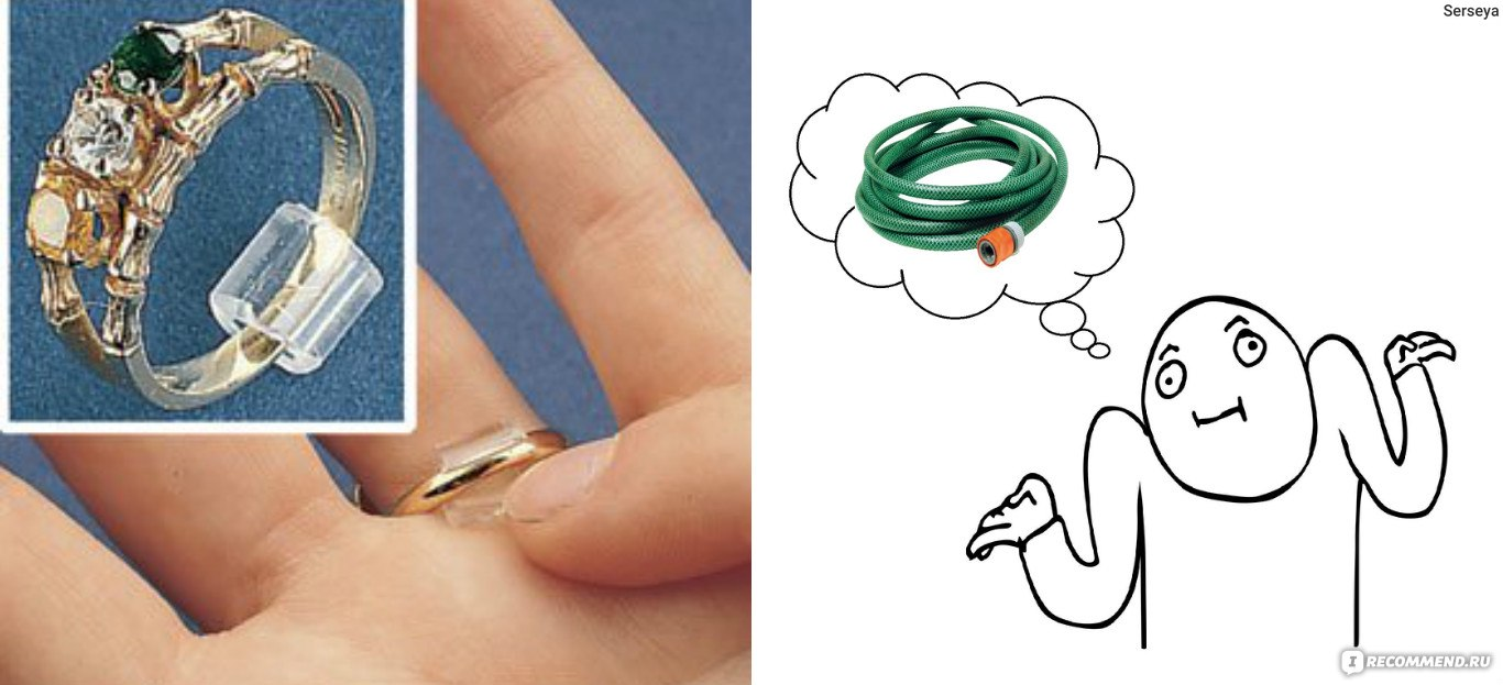 Как уменьшить размер кольца в домашних условиях