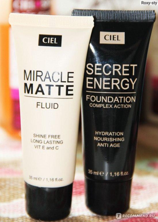тональный крем ciel parfum secret energy complex action foundation купить