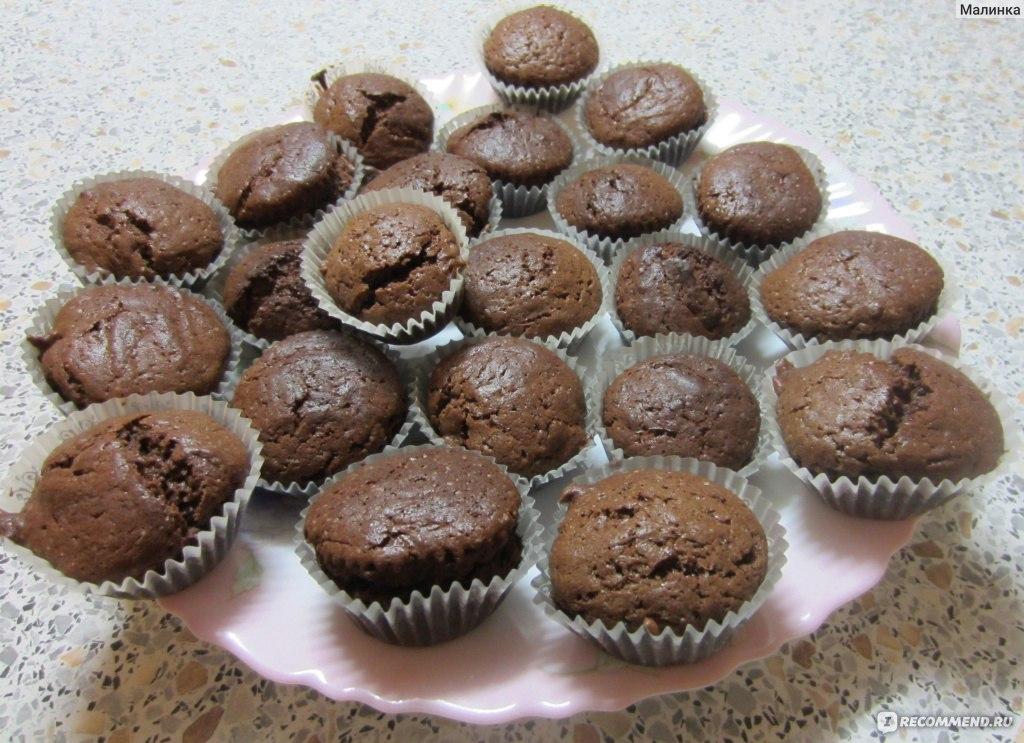 Кексы в формах пошаговый рецепт фото